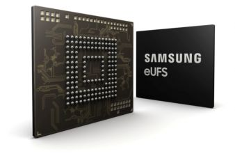 Samsung Begins Production of 256GB eUFS for Automotive Applications