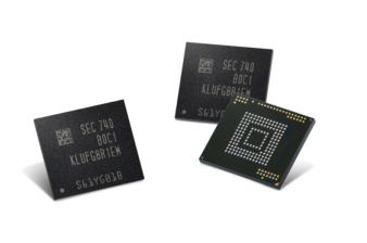 Samsung Starts Producing 512 GB Flash Storage for Mobile Devices