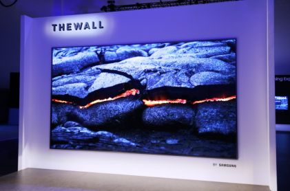 Samsung Unveils The Wall, First Modular MicroLED 146-inch TV