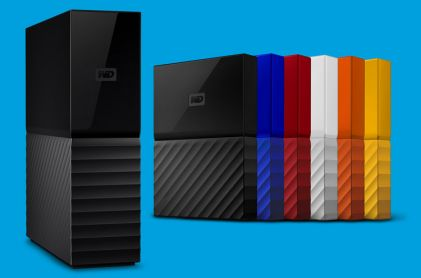 Western Digital unveils new design language with redesigned My Passport and My Book hard drives