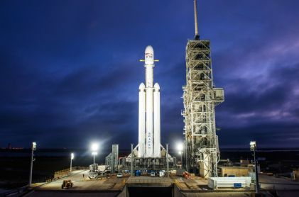 Most Powerful Rocket Sends Tesla to Space