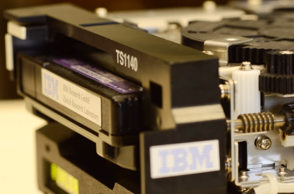 IBM Sets New Record for Magnetic Tape Storage