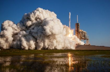 SpaceX Pulls Off First Reused Rocket Mission