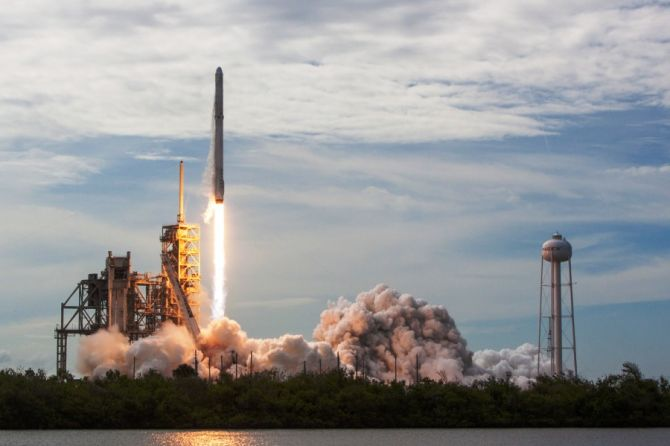 SpaceX Ferries Supplies to Space Station With Reused Capsule