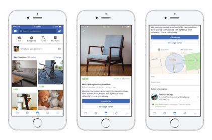 Facebook Launches New Classified Advertising Service Marketplace