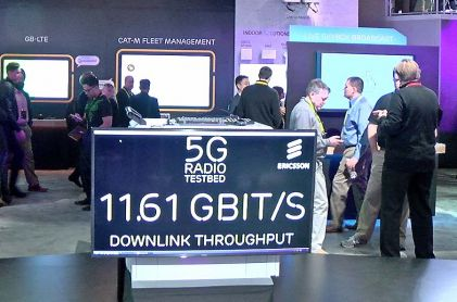 CES: Ericsson Demonstrated How 5G Will Change the Way We Live and Work