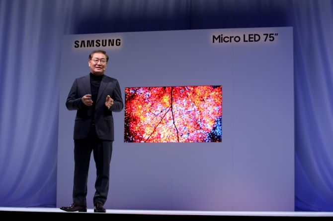 CES 2019: Samsung Unveils Modular Micro LED Technology