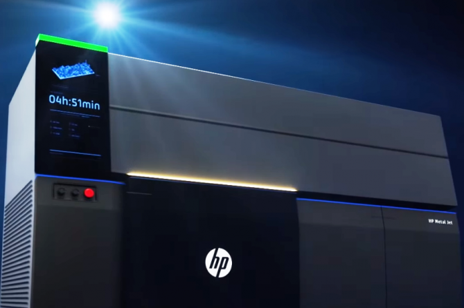 HP Launches Advanced Metals 3D Printing Technology for Mass Production