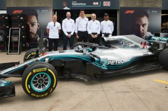 Mercedes-AMG Petronas Motorsport Partners with HPE