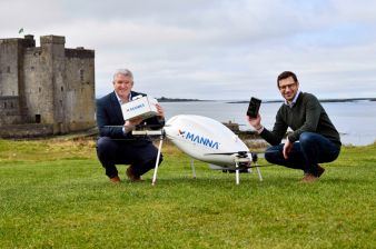Samsung Partners With Manna to Launch Drone Delivery Service in Ireland