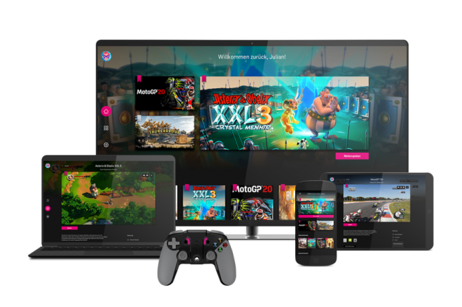 Deutsche Telekom Launches Cloud Gaming Platform