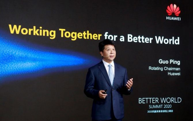Huawei Focuses on 5G and COVID-19, Dodges Unpleasant Topics