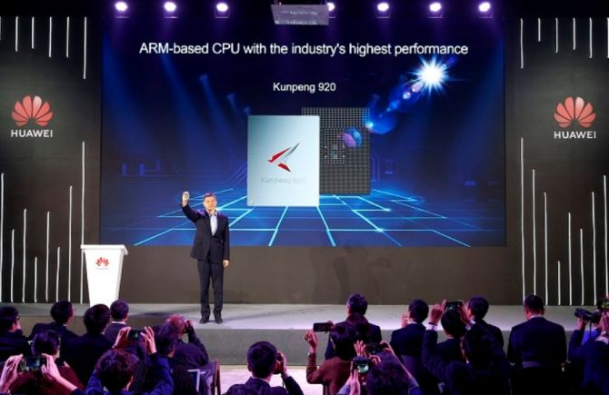 Huawei Unveils Industry's Highest-Performance ARM-based CPU