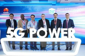 Huawei Launches Industry's First 5G Power Solution