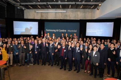 Samsung Opens AI Center in Montreal
