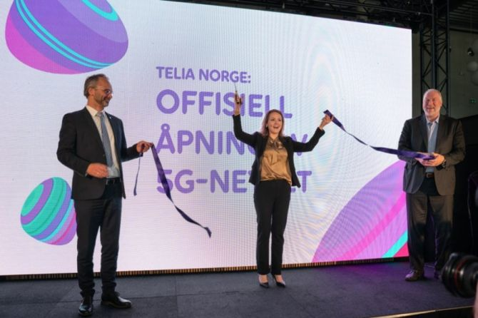 Telia Norway Launches Commercial 5G