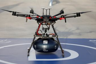 SEAT and Grupo Sesé Link Up via Drone