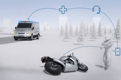 Bosch Introduces Automatic Emergency Calls for Motorcycles
