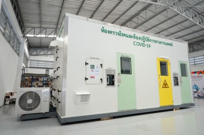 Siemens and Auto-Info Create COVID-19 Mobile Testing Units