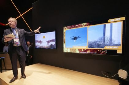 MWC 2019: Samsung, Cisco and Orange Demonstrate 5G Drone and Robot